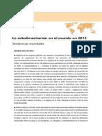 Subalimentacion en Argentina