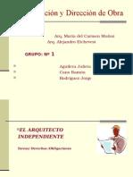 Responsabilidad Del Arquitecto Independiente