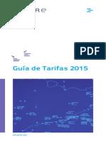 Tarifas Enaire 2015 (España)