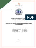 DISCIPLINAS NORTEADORAS Estrutura e Organização da Educação Brasileira e Educação e Diversidade.doc