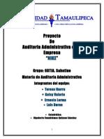 Proyecto de Auditoria Administrativa NIKE