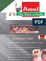 Presentation Amul