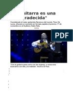 PACO de LUCIA La Guitarra Es Una Desagradecida