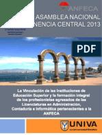 Ponencia Vinculacion Universitaria 2013