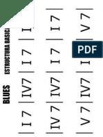 Blues 12 Compases Estructura Grados