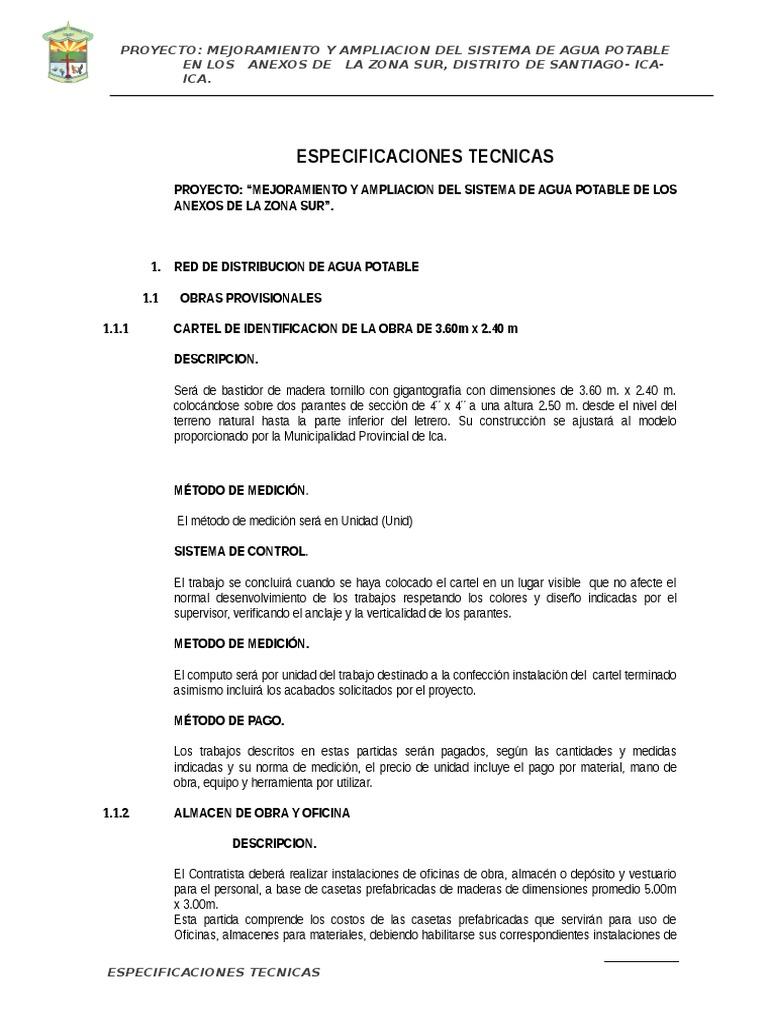 Especificaciones Tecnicas 47446048aae