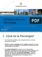 Psicologia Introduccion