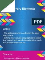 literary elements pp
