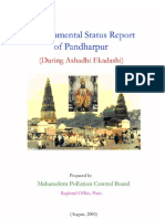 Environmental Status Report, Pandharpur
