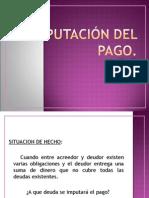 Imputacion Dacion Pago Indebido Malla