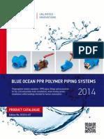Catalogo Blue Ocean PPR Piping Systems 2014