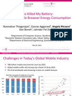 Who Killed My Battery_ Analyzing Mobile Browser Energy Consumption Presentation 1