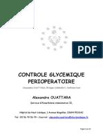 C3 Chap06 - Controle Glycémique en Peri-opératoire a OUATTARA