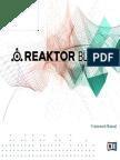 REAKTOR Blocks Framework Manual English
