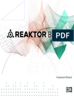 REAKTOR Blocks Framework Manual English