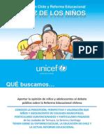 UNICEF. La Voz de Los Niños