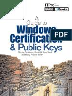 Windows PKI et certificats