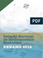 Relacao Nacional Medicamentos Essenciais - RENAME 2014