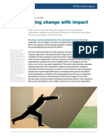 Implementing Change With Impact FINAL