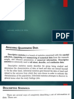 Descriptive Data