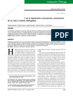 Abordaje Diagnostico de La Hipertension Renovascular