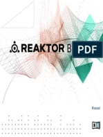 REAKTOR Blocks Manual English
