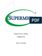 Supermicro Utility User Guide IPMICFG