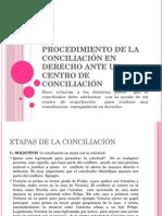 Clase de Masc 4 Procedimiento Conciliatorio en Derecho Centros de Conciliacion Clase 5