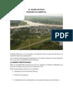 Contaminacion Ambiental en El Bagre Antioquia