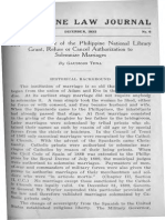 PLJ Volume 12 Number 6 -01- Gaudioso Tena - May the Director of the Philippine National Library Grant,
