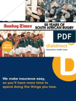 50 Years of South African Rugby