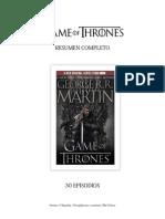 Temporadas de Game of Thrones