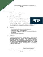 Informe de Interpretacion Del Test de Bender