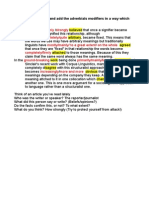 Adverbs as Premodifiers of Degree in Academic Texts