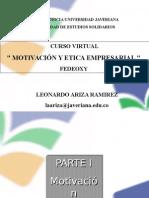 Curso Virtual Etica Empresarial y Motivacion Fedeoxy