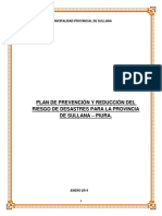 Documentos Municipales 2015 Defensa Civil PLAN PPRRD