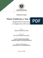 Tesis Doctoral Sobre San Agustin