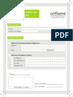 2.A5 Formulir Perubahan Data Consultant