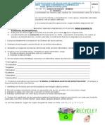 Guía de Refuerzo Lengua Castellana 3 Periodo.