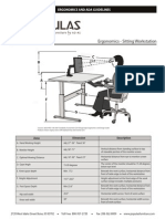 Ergonomic ADA Guidelines