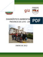 Diagnóstico Ambiental Local - Luya