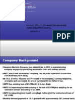 A Case Study of Hampton Machine Tool