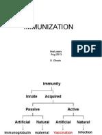 Immunization & PUO