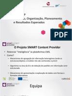 SMART CP Conceito, Organização, Planeamento e Resultados Esperados 1.0