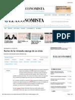 10-10-15 Sector de la vivienda emerge de su crisis | El Economista