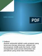 Asuhan Antenatal