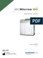 Manual Usuario Micro 60 Español
