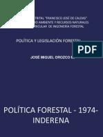 Politica Forestal - 1974