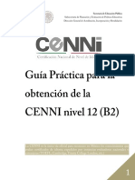 Guia Cenni Nivel 12