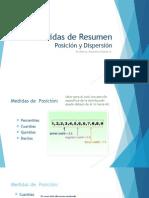 Estadística_Medidas de Posición y de Dispersión